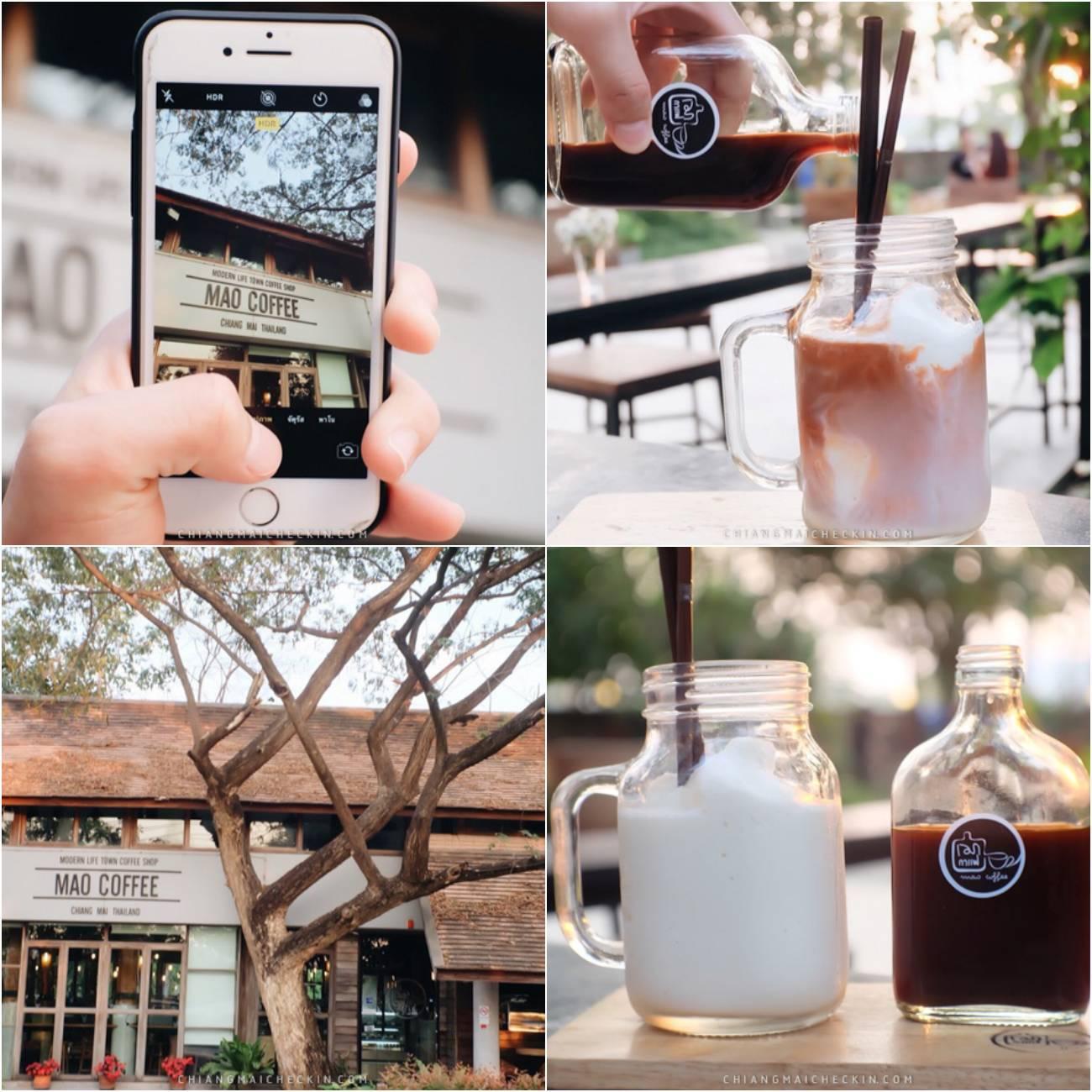Mao Coffee กาแฟหลักสิบ บรรยากาศหลักพัน ร้านบรรยากาศดียยย์สบายๆเป็นกันเอง กาแฟรสเข้มอร่อยรับรองถูกใจคอกาแฟแน่นอนแวะมาลองชิมกัน