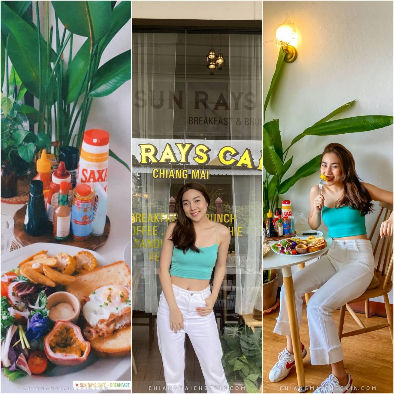 Sun Rays Cafe  ร้านจัดเต็มมาแบบไม่กั๊ก รสชาติอร่อยเวออร์ และยังตกแต่งร้านสวยงามอีกด้วย ส่วนสมู๊ตตี้ก็ไม่หวานเกินไปสายสุขภาพต้องห้ามพลาดด