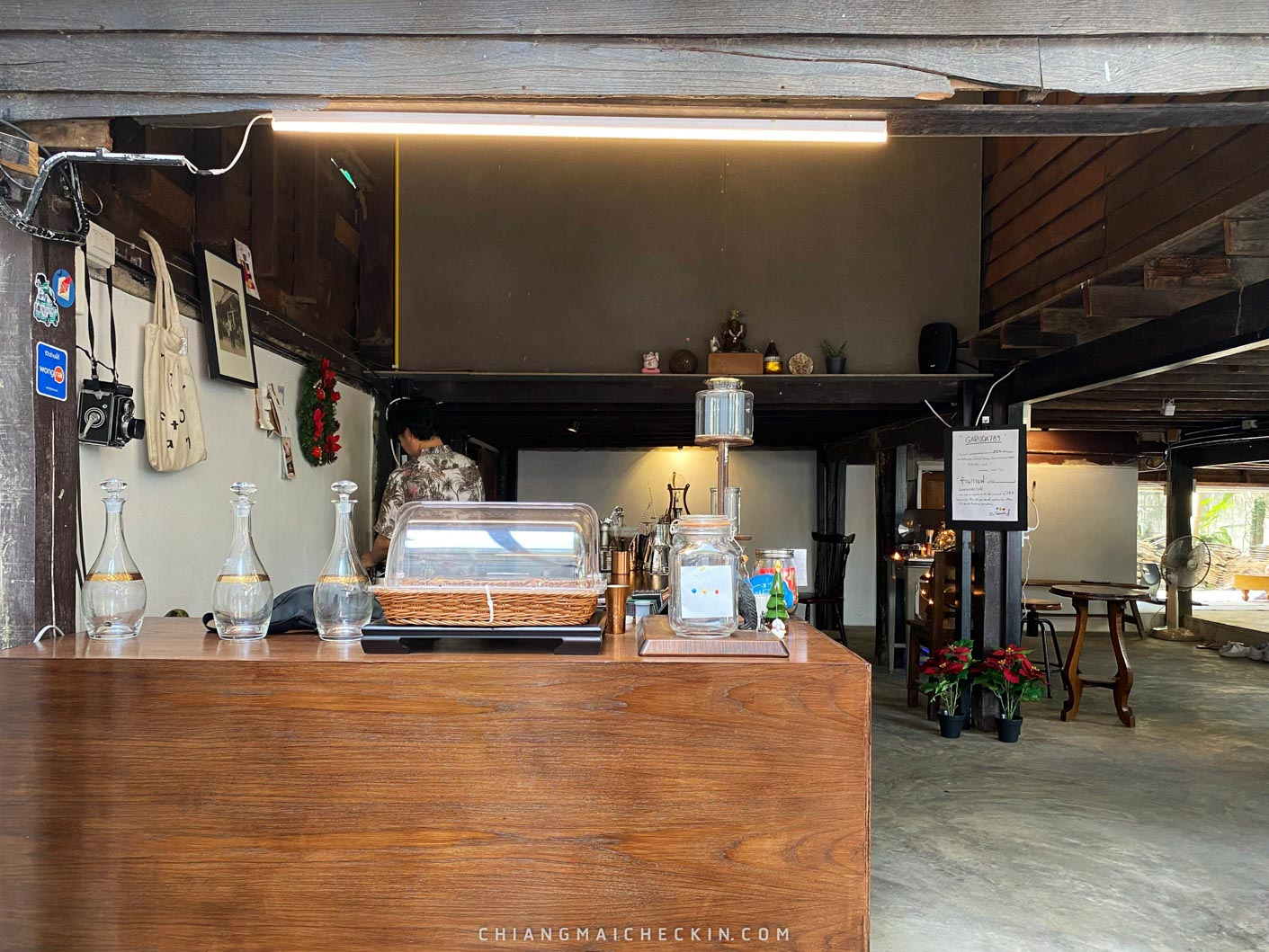ร้าน garuda 789 ร้านสไตล์ชิวๆให้ไปลองชิมกาแฟหอมๆที่จังหวัดเชียงใหม่กันได้